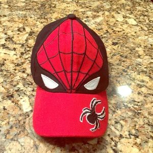 Youth Spider Man Hat with Velcro back!